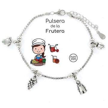 Foto de 102-9104172-2 - Pulsera Plata de la Frutera